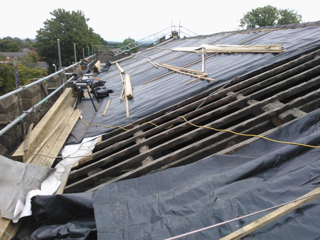 Finlason Partnership Architects, Newton Heath - HLF grant funded urgent roof repairs